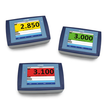 Indicator pentru cantar cu touch screen