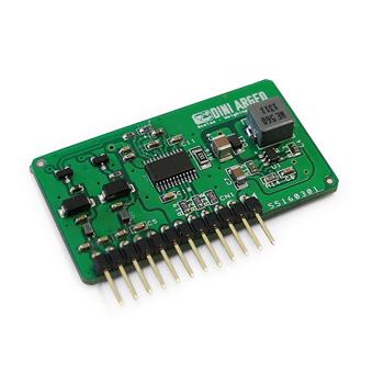 Interfata cu iesire analogica de 16 biti configurabila - DAC16O