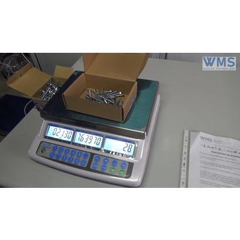 Procedura de numărare pentru cântar numărător