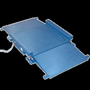 Cântar Platformă cu Rampe FLP - Suprafață striată și panouri protectoare